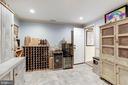 Wine Cellar/Cigar Room w/exhaust fan - 8104 FLOSSIE LN, CLIFTON