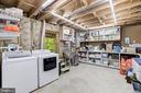 Lower Level Storage and Second Laundry - 8104 FLOSSIE LN, CLIFTON
