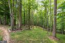 Rear Landscape, Fully Fenced In - 8104 FLOSSIE LN, CLIFTON