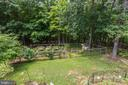 Overview of Gardens and Yard - 8104 FLOSSIE LN, CLIFTON