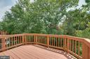 Spacious Outdoor Deck with Nature Views! - 23114 BLACKTHORN SQ, STERLING