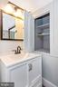 Vintage linen or storage closet in primary bath - 123 W 5TH ST, FREDERICK