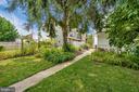 Shady lawn and garden - 123 W 5TH ST, FREDERICK