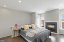 4th level loft currently set up as Primary bedroom - 256 BLUEMONT BRANCH TER SE, LEESBURG