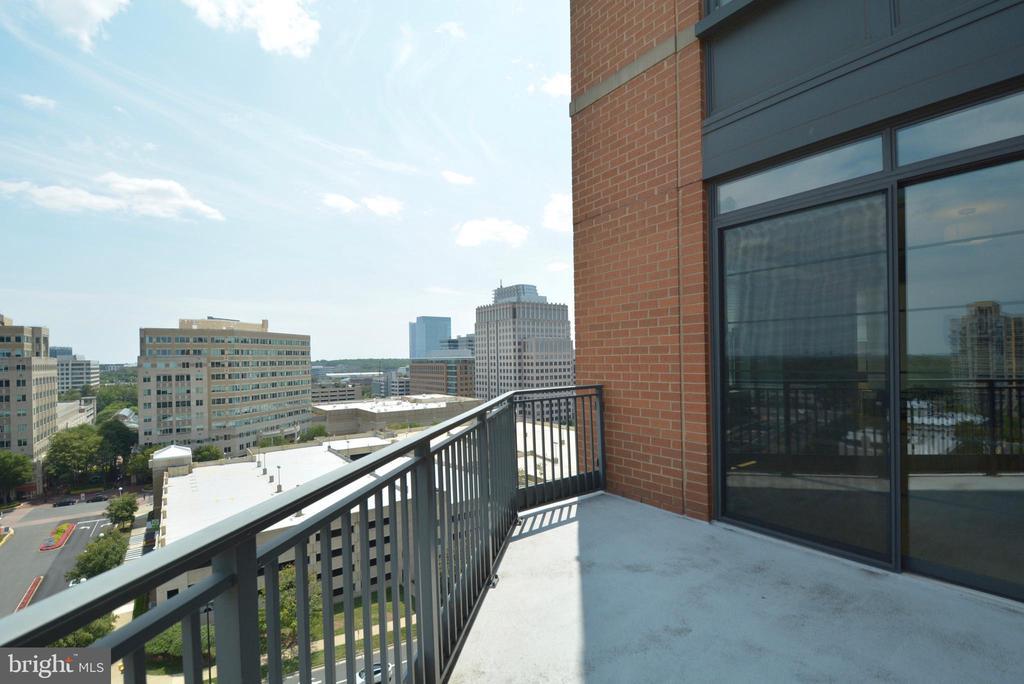 Balcony View - 1830 FOUNTAIN DR #1208, RESTON