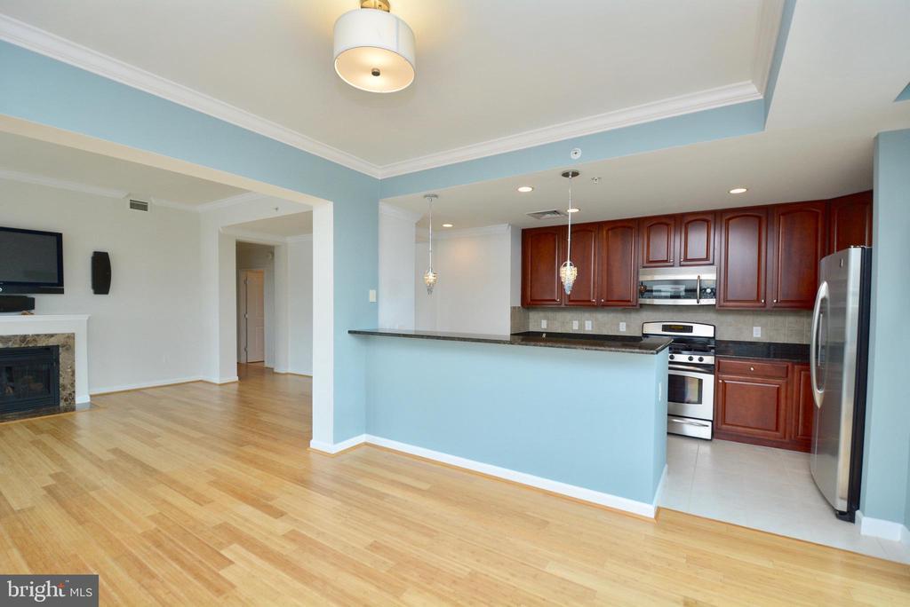 Kitchen Dining Room - 1830 FOUNTAIN DR #1208, RESTON