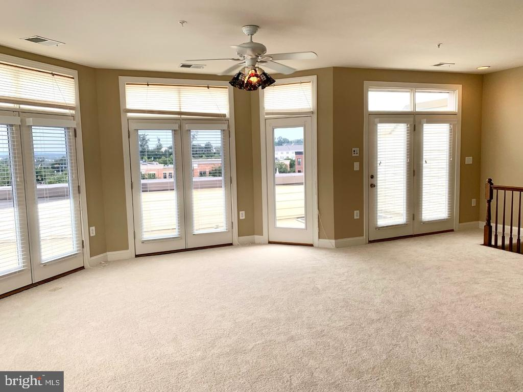 4th level loft with access to rooftop terrace - 19383 NEWTON PASS SQ #R06V, LEESBURG