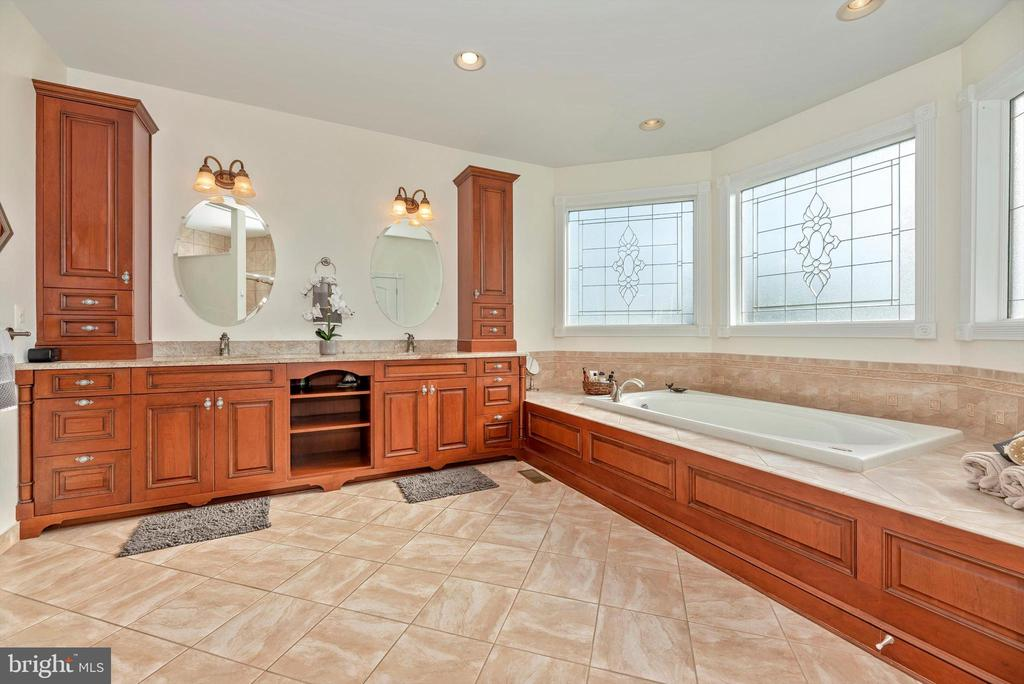 Lavish Master Luxury Bath - 7525 OLD RECEIVER RD, FREDERICK