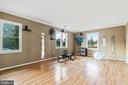 Workout Room or Formal Living Area - 5609 S QUAKER LN, ALEXANDRIA