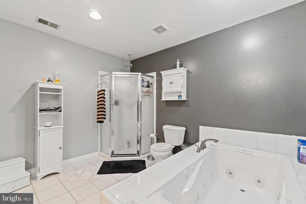 Master Bath Standup Shower - 5609 S QUAKER LN, ALEXANDRIA