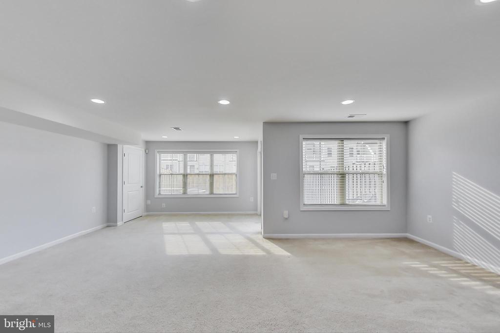 Lower level recreation room - 23636 SAILFISH SQ, BRAMBLETON