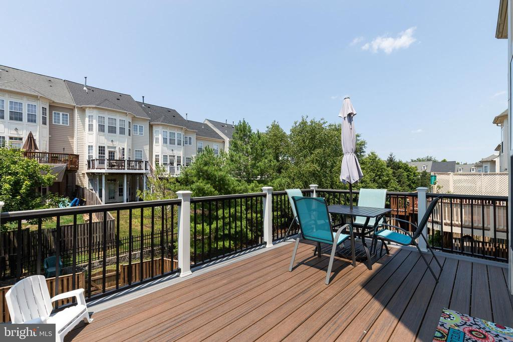 New Synthetic Deck Installed Summer 2020 - 43813 LEES MILL SQ., LEESBURG