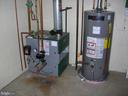 Gas hot water heat and water heater - 703 WYNGATE DR, FREDERICK