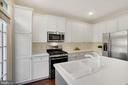 Corian Counters, Newer Stainless Steel Applainces - 12079 CHANCERY STATION CIR, RESTON
