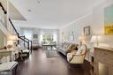 Gorgeous Walnut Stained Floors on two levels - 12079 CHANCERY STATION CIR, RESTON