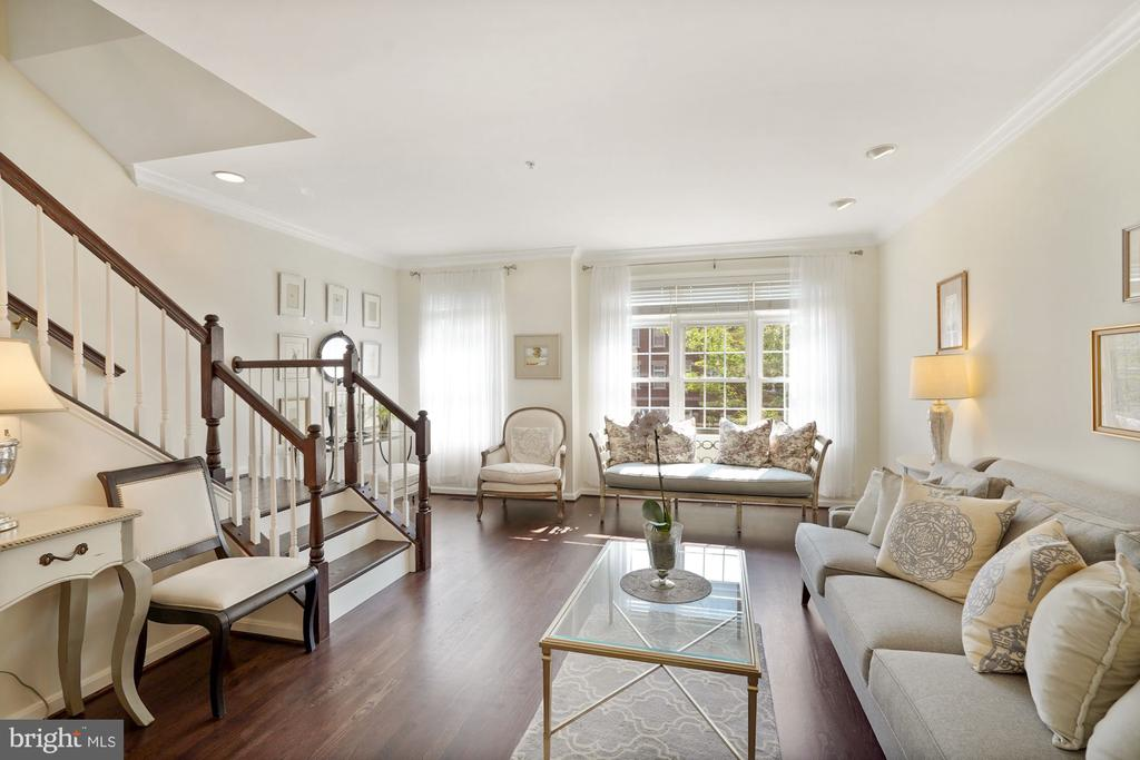 Down to the Gorgeous Bright Living Area - 12079 CHANCERY STATION CIR, RESTON
