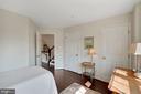 Second Bedroom with walk-in Closet & Elfa Shelves - 12079 CHANCERY STATION CIR, RESTON