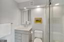 Fully Renovated En-suite Bathroom - 12079 CHANCERY STATION CIR, RESTON
