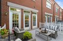 Perfect for a glass of wine or dinner outside - 12079 CHANCERY STATION CIR, RESTON