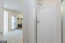 Lower level full bath - 43151 CROSSWIND TER, BROADLANDS