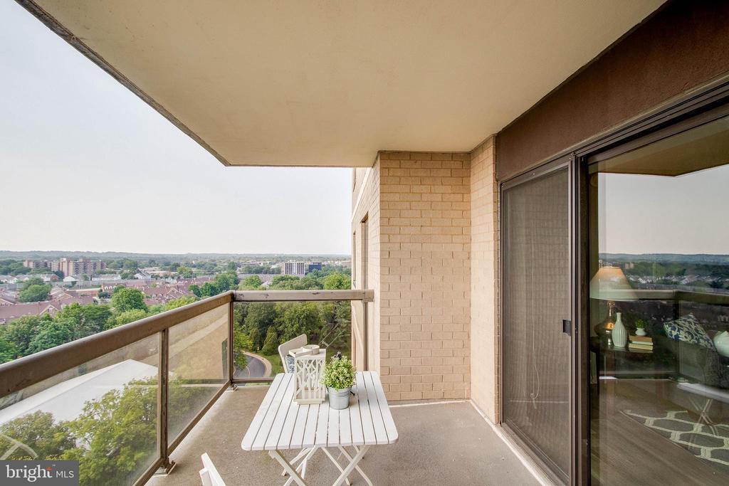 Balcony - 307 YOAKUM PKWY #1726, ALEXANDRIA