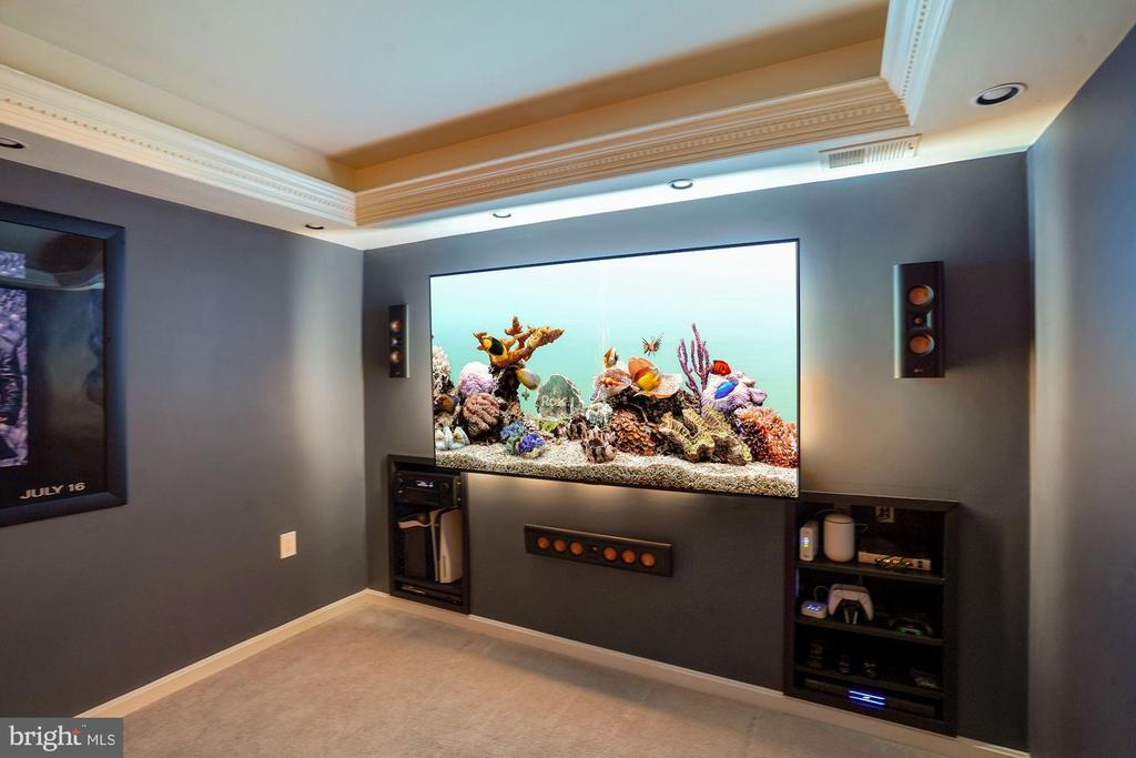 Special tray ceiling lighting - 11736 ROCKAWAY LN #101, FAIRFAX