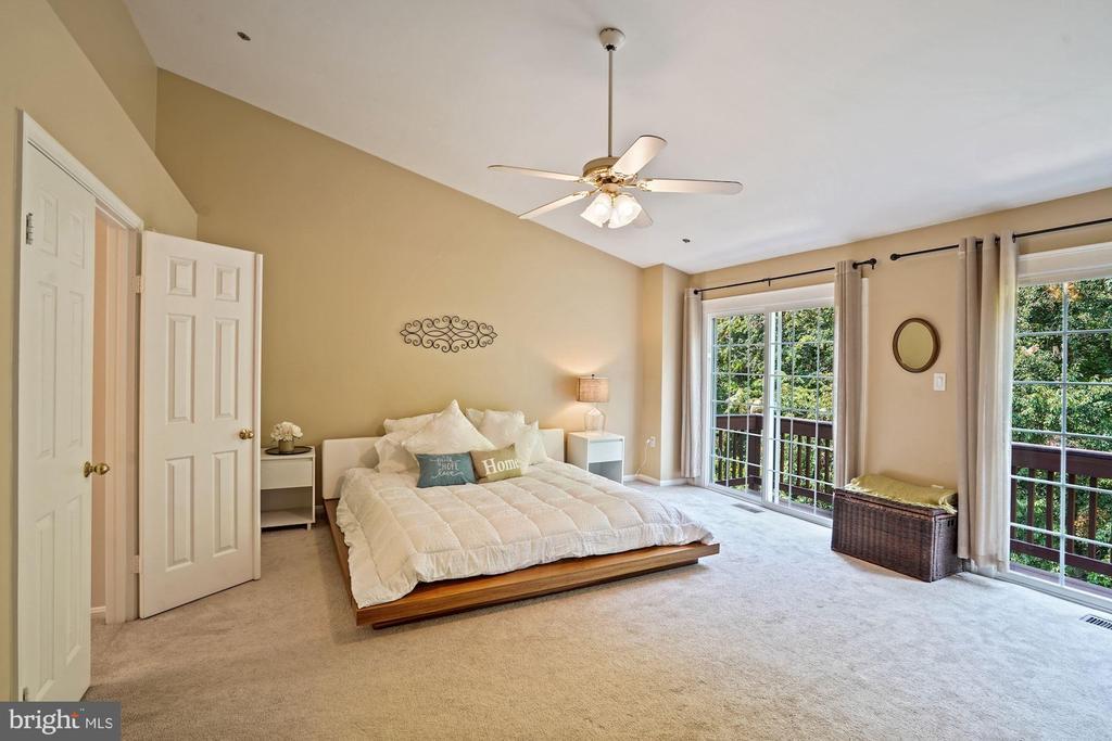 Huge master bedroom! - 11736 ROCKAWAY LN #101, FAIRFAX