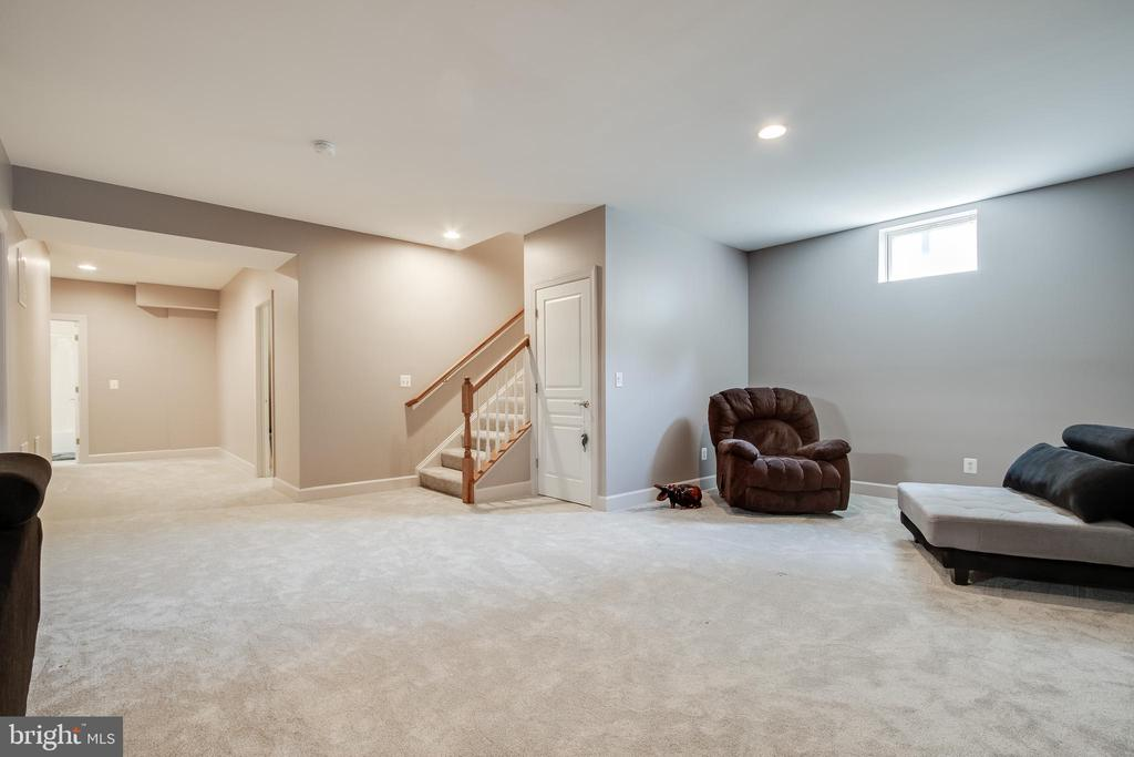 Brand new carpet in lower level - 23247 CHRISTOPHER THOMAS LN, BRAMBLETON