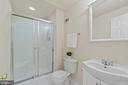 Full bathroom in basement - 15 SARRINGTON CT, STAFFORD