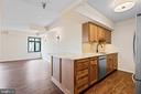 Upgraded Kitchen with Additional Counterspace - 2400 CLARENDON BLVD #316, ARLINGTON