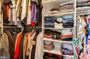 Primary bedroom closet - 201 GOLDEN LARCH TER NE, LEESBURG