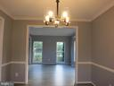 Spacious dining room to entertain your guests - 11139 EAGLE CT, BEALETON