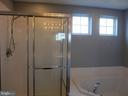 Master bath shower - 11139 EAGLE CT, BEALETON