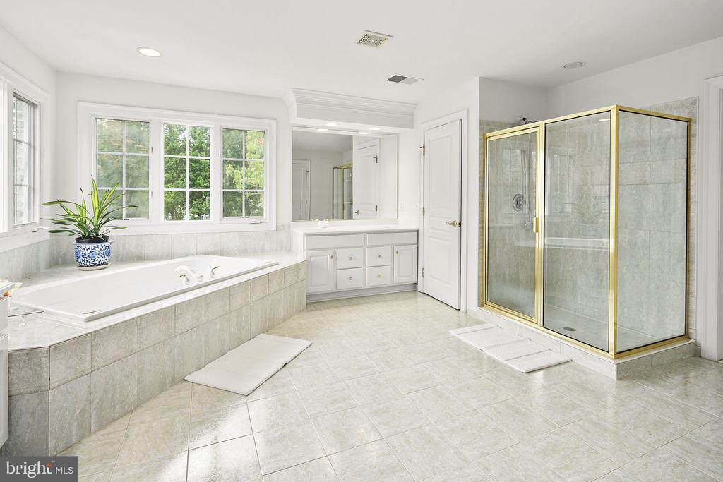 Walk-in shower - 2792 MARSHALL LAKE DR, OAKTON