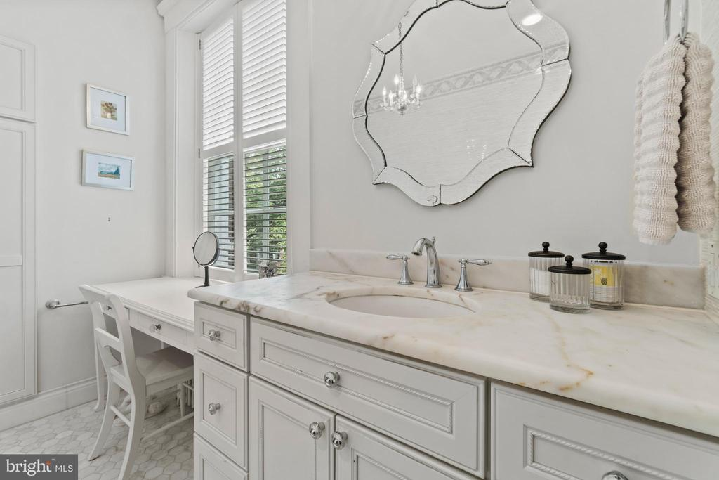 First primary bathroom - 3026 P ST NW, WASHINGTON