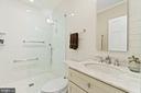 Third bathroom - 3026 P ST NW, WASHINGTON