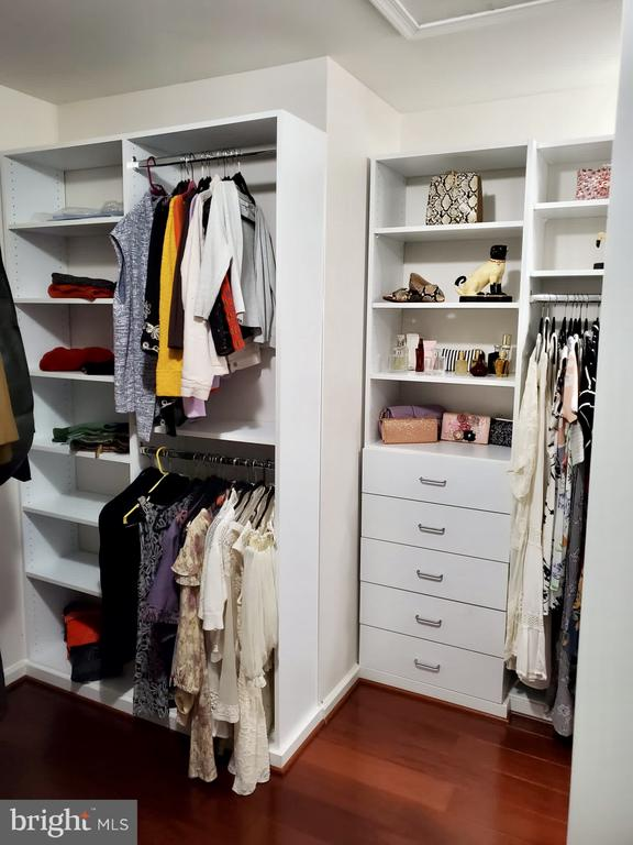 Recently done closet - 23084 PECOS LN, BRAMBLETON