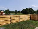 fenced in back yard for your privacy - 11139 EAGLE CT, BEALETON