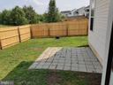 Six feet  fenced yard for your privacy - 11139 EAGLE CT, BEALETON