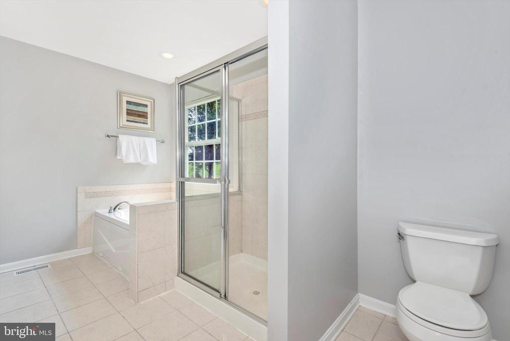 Primary Bath w/ Stall Shower - 303 TIGER WAY, BOONSBORO