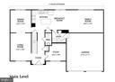Main Level Floor Plan - 303 TIGER WAY, BOONSBORO