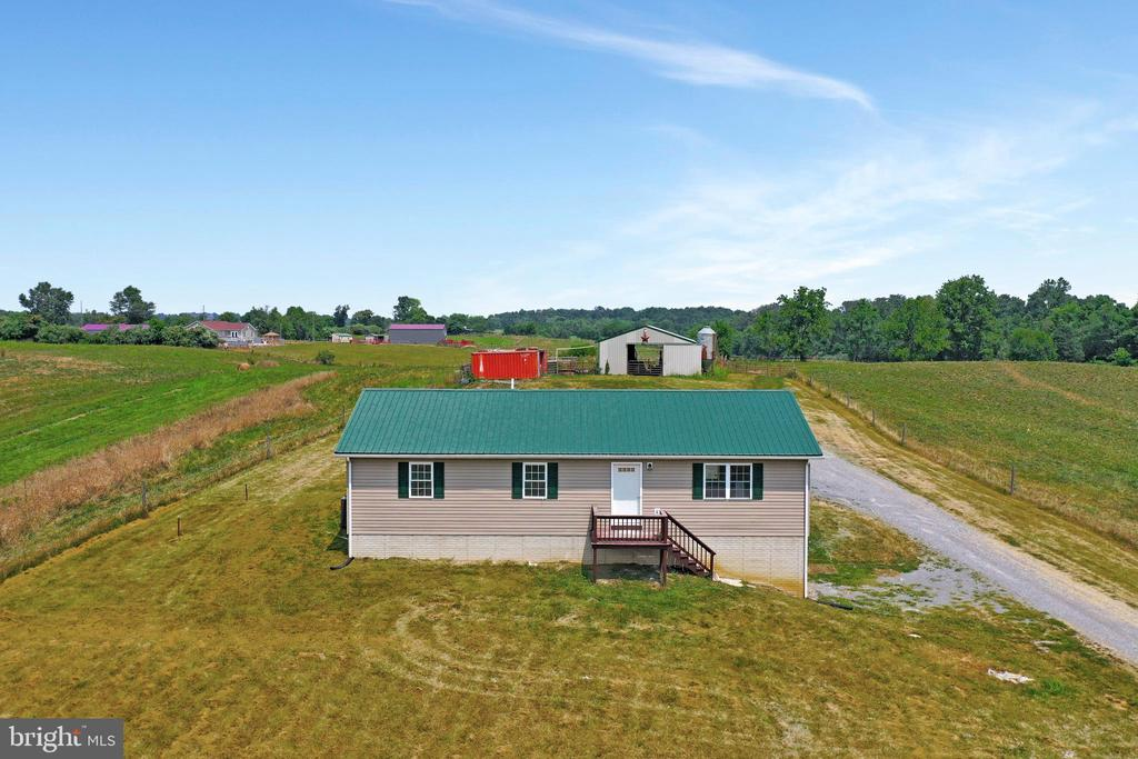 Built 1999 but being completely remodeled. - 857 MT HAMMOND, CHARLES TOWN