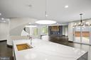 Modern open floor layout - 1120 GUILFORD CT, MCLEAN