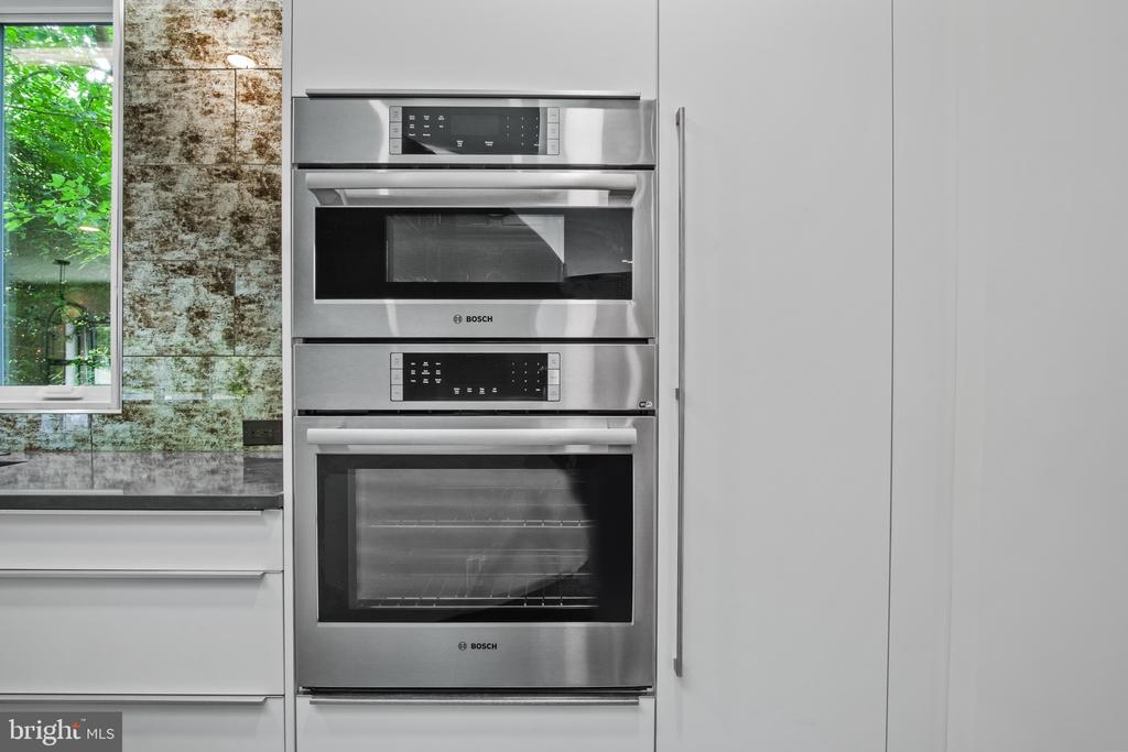 Bosch microwave/oven combo - 1120 GUILFORD CT, MCLEAN