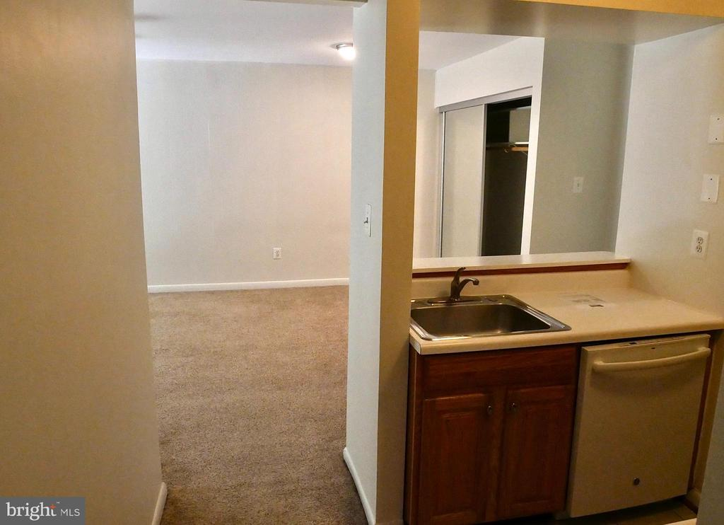 Kitchen and entrance - 5761 REXFORD CT #S, SPRINGFIELD
