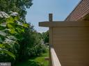 Balcony view to woods - 5761 REXFORD CT #S, SPRINGFIELD