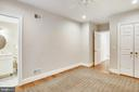 Lower level bedroom with en suite bath - 3038 N PEARY ST, ARLINGTON