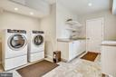 Laundry room on lower level - 3038 N PEARY ST, ARLINGTON