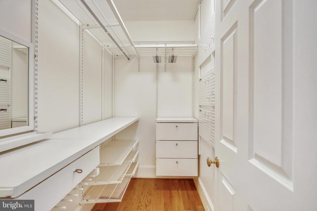 One of two wall in closets in Primary suite - 3038 N PEARY ST, ARLINGTON