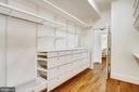Primary  walk in closet - 3038 N PEARY ST, ARLINGTON